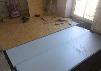 Šafaříková – oprava podlahy